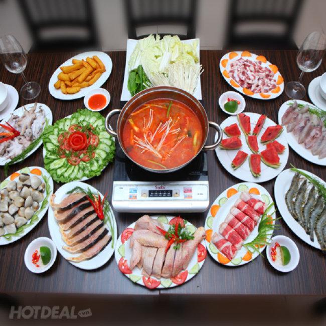 Buffet Lẩu Hải Sản Gọi Món Tại Nhà Hàng Hương Vị Quán- Vincom...