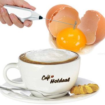 Máy Tạo Bọt Cafe Và Đánh Trứng Mini Cappucino Maker