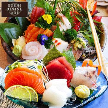 Buffet Trưa/ Tối 100 Món Nướng, Lẩu, Sashimi, Sushi Tại Sushi Dining AOI
