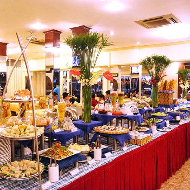 Buffet Tối Hấp Dẫn 58 Món Tại Khách Sạn Victory