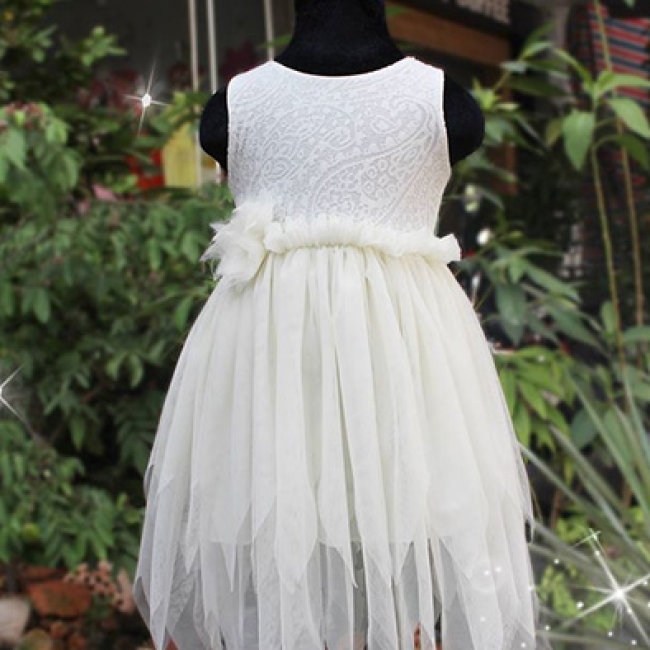 Đầm Công Chúa Luminy Cho Bé Từ 6-8 Tuổi