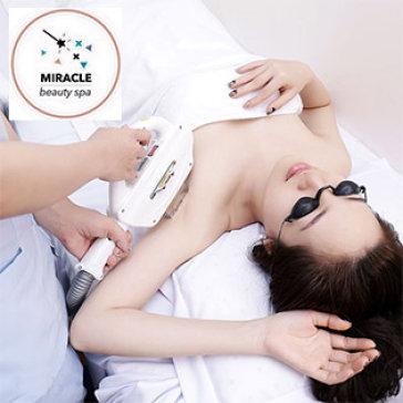 10 Lần Triệt Lông Vĩnh Viễn (Không Bù Tiền) Bằng Công Nghệ Newlight 2016 – Tại Miracle Beauty Spa