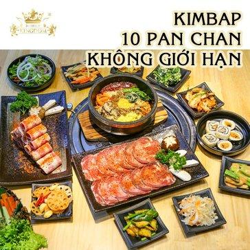Giá Sốc - Set 14 Món Bò Mỹ Cho 2-4 Người Tại Kingdom BBQ