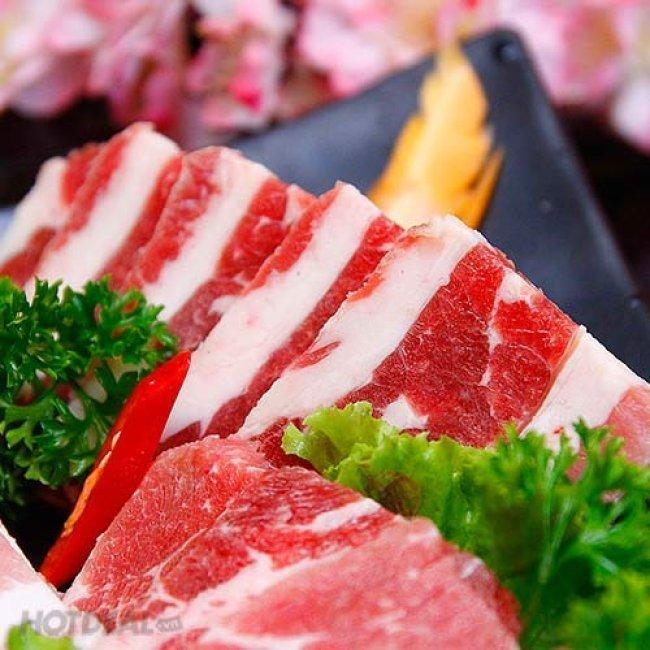 Buffet Lẩu Nướng Nhật Bản Tại Nhà Hàng Shiki BBQ