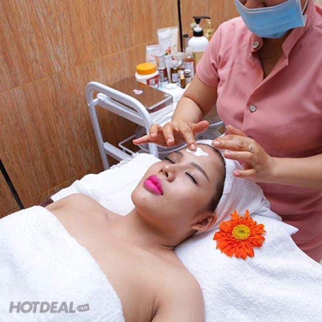 Chạy Vitamin C, Phun Oxyzet + Massage Mặt, Làm Sáng Mịn Da, Se Khít...