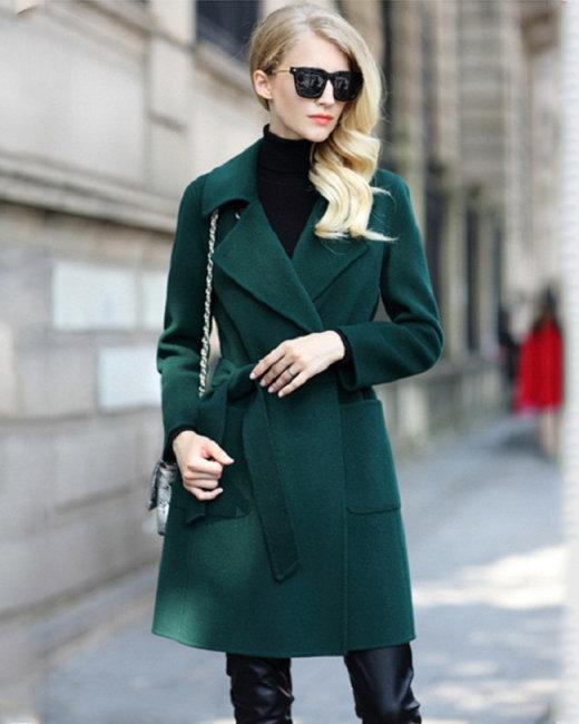 Áo Khoác Dạ Cao Cấp Fashion