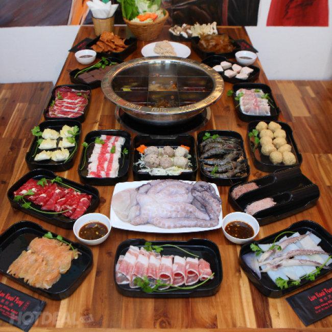 Buffet Lẩu Hồng Kông - Phục Vụ Tại Bàn - Nhà Hàng Lan Kwai Fong...
