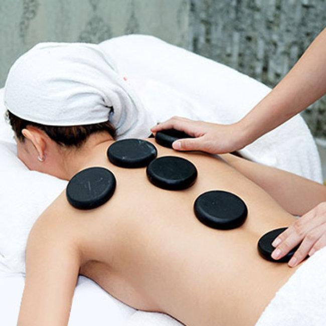 Trọn Gói Couple Vip: Xông Hơi + Massage Body Đá Nóng + Mặt Nạ Gold...