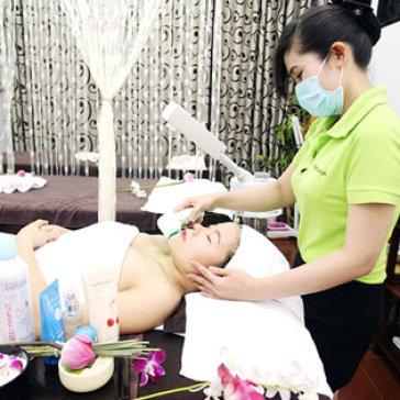 Massage Mặt + Phun Oxy Tươi Làm Mờ Vết Thâm, Giảm Nếp Nhăn +...