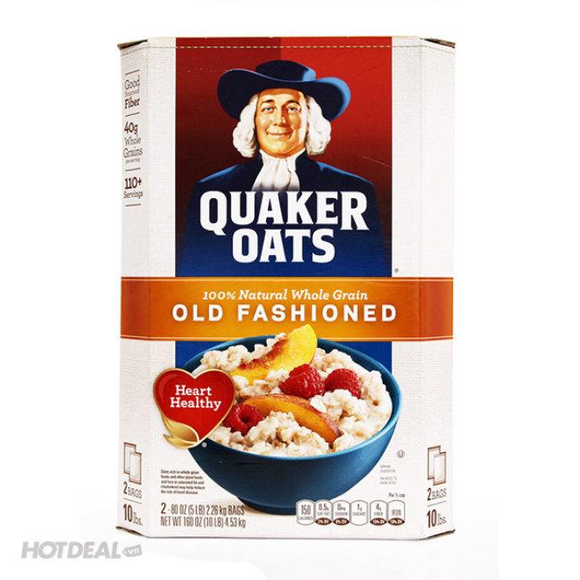 4.53kg Bột Yến Mạch Quaker Oats Chính Hãng Mỹ