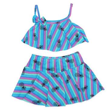 Set Đồ Bơi Bé Gái Hai Dây Baby