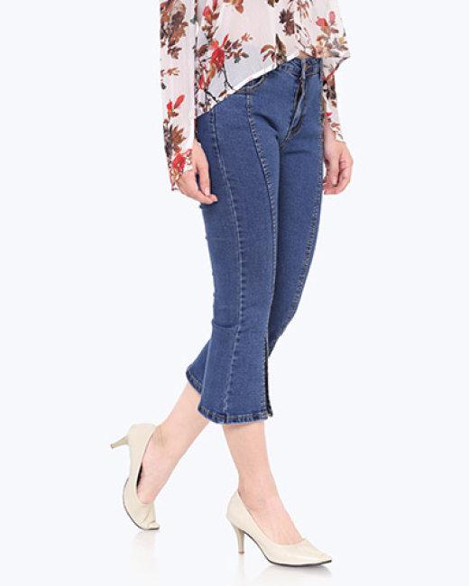 Quần Jean Xẻ Ống Loe Hot Trend
