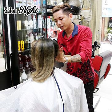 Trọn Gói Làm Tóc Cao Cấp Bằng L'Oreal, Obsidian Tại Hair Salon Nghị