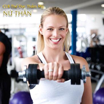 1 Tuần Tập Gym, Yoga, Aerobic, Zumba, Khiêu Vũ Không Giới Hạn Thời Gian Tại CLB Nữ Thần