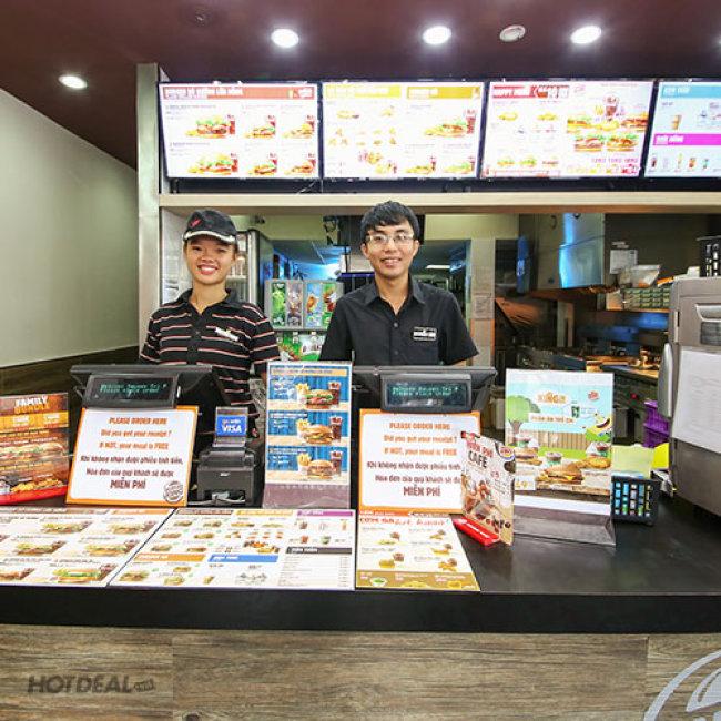 Burger King Nổi Tiếng Từ Mỹ - Set BBQ Burger + Kem Ốc Quế & Thức...