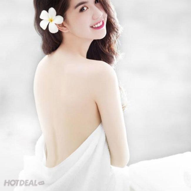 Tắm Trắng Collagen + Hấp Trắng Phi Thuyền Nhiệt Hồng Ngoại (Bao...