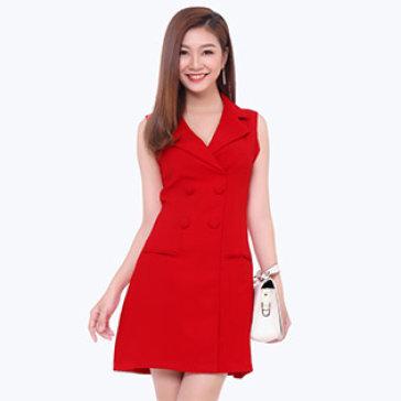 Đầm Vest Nữ Phong Cách Hàn Quốc
