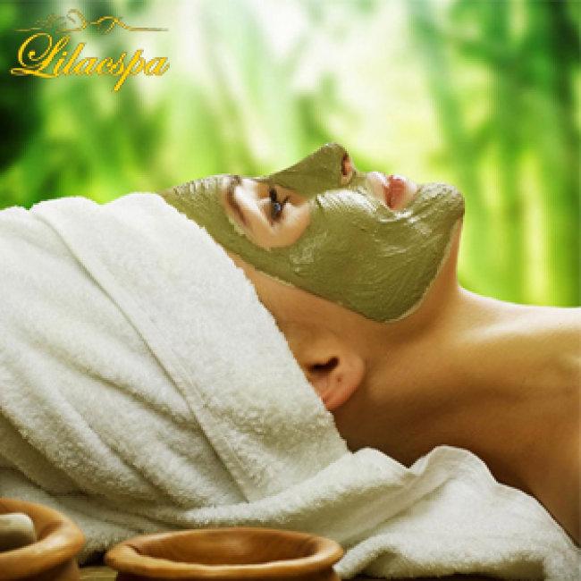 Massage Oxy Trà Xanh Tại Lilac Spa