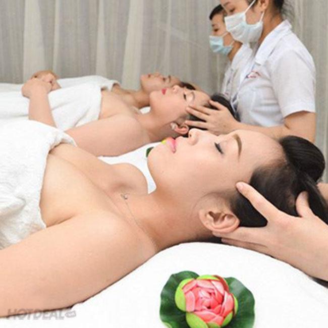 Massage Body Đá Nóng, Tẩy Tế Bào Chết, Phun Oxy, Đắp Mặt Nạ -...