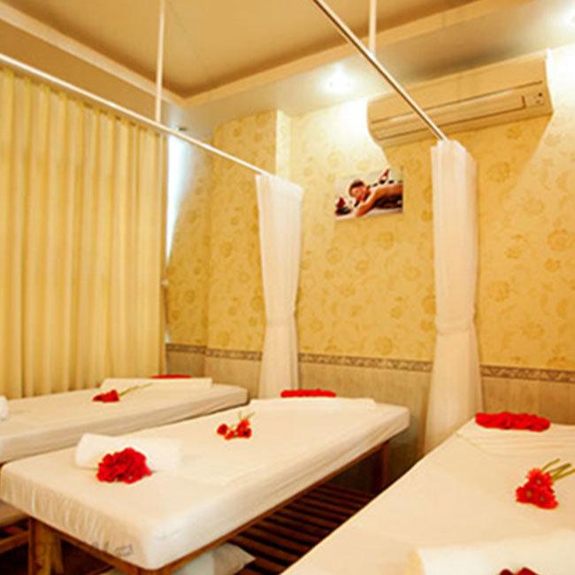 Gói Chăm Sóc Toàn Diện: Massage Body Thái + Bấm Huyệt Shiastu + Đá...