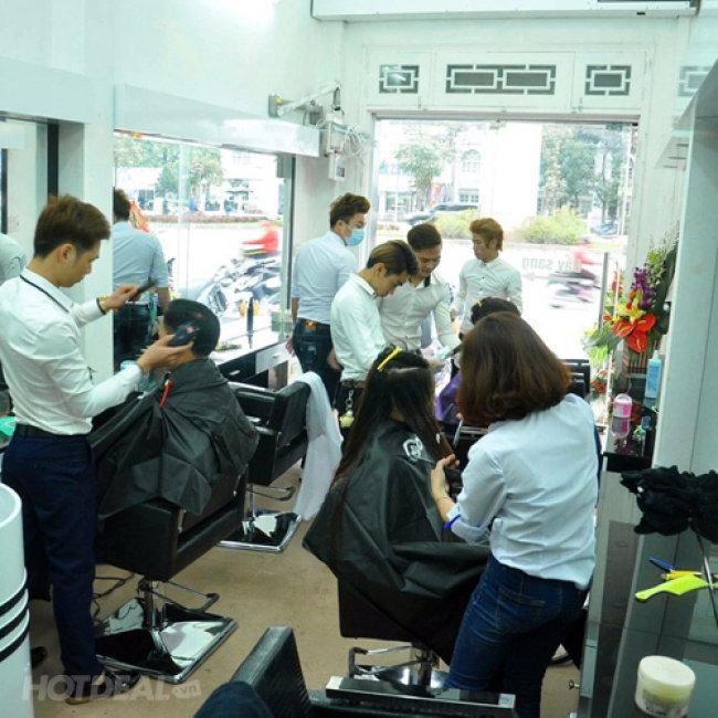 Trọn Gói Tóc Đẹp Đẳng Cấp Kèm Hấp Tại Salon Tóc Đức Ngọc