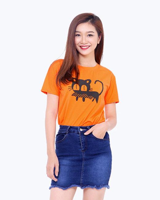 Áo Thun Teen Mèo Mắt To TH Bilano