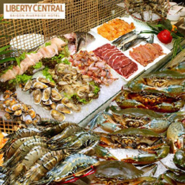 Buffet Tối Liberty Riverside - Thứ 2 Đến Thứ 4