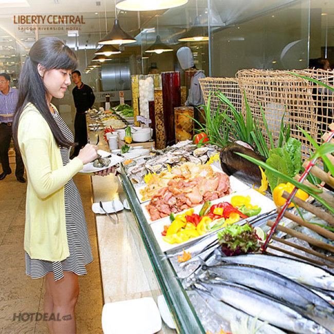 Buffet Trưa Liberty Riverside - Thứ 2 Đến Thứ 6