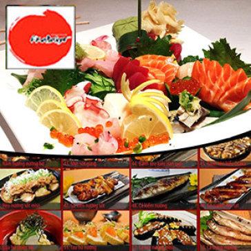 Buffet Nhật Bản Trưa/Tối Sashimi, Sushi Và Món Nướng Tại Nhà Hàng Akataiyo