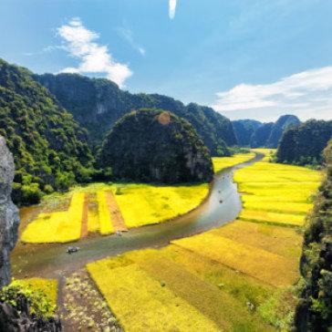 Tour Hà Nội - Hoa Lư - Tam Cốc 1 Ngày - Ăn Trưa Buffet, Miễn Phí Xe Đạp, Khởi Hành Hàng Ngày, Không Phụ Thu Cuối Tuần