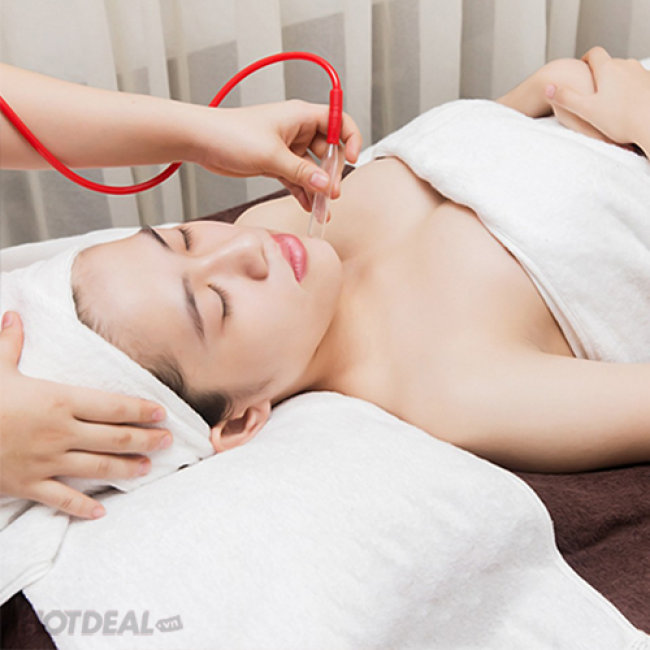 Chăm Sóc Da Collagen + Massage Cổ Vai Gáy Tại Spa Thảo