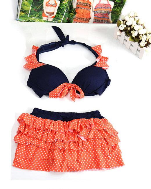 Bộ Bikini 2 Mảnh Phối Tầng
