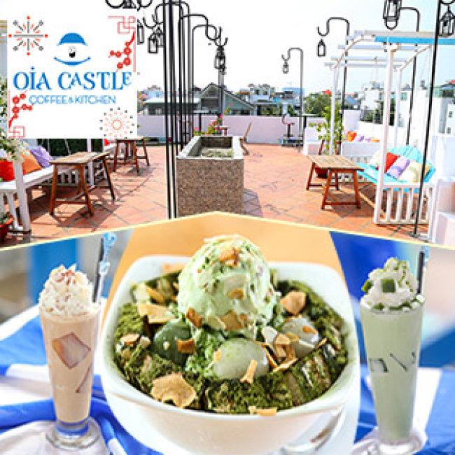 Oia Castle Coffee And Kitchen - Không Gian Hẹn Hò Lý Tưởng Thưởng...