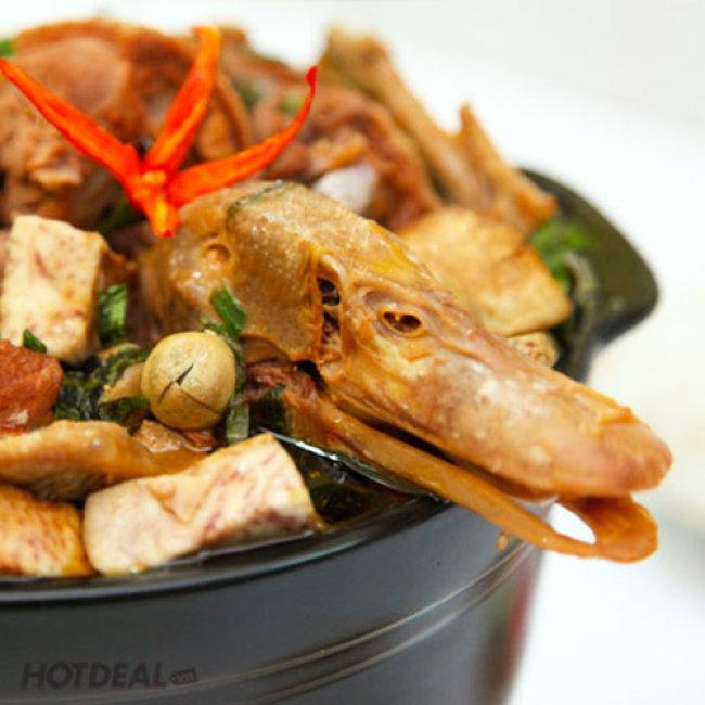 Vịt Nấu Chao - Ngon Tuyệt Hảo Cho 4 Người - Làng Ẩm Thực Tân...