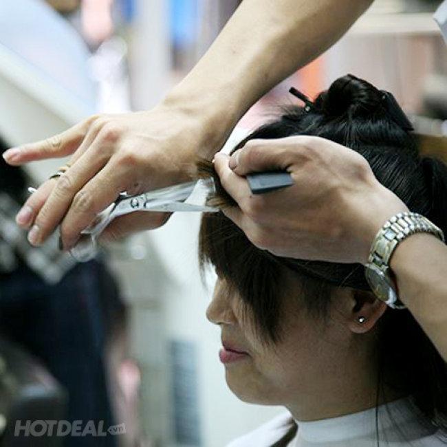 Cắt + Gội + Hấp + Sấy Tạo Kiểu Tại Eva Xinh Hair Salon