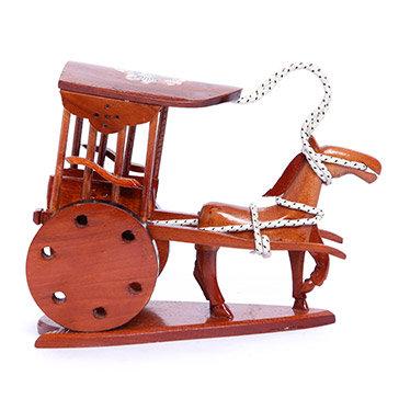 Ngựa Kéo Xe Handmade Trang Trí - Quà Tặng Ý Nghĩa