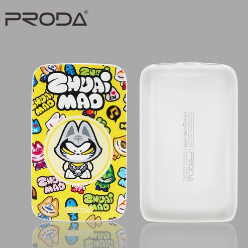 Pin Sạc Dự Phòng Remax Proda Color 10.000mAh (Họa Tiết Mèo Siêu Nhân)
