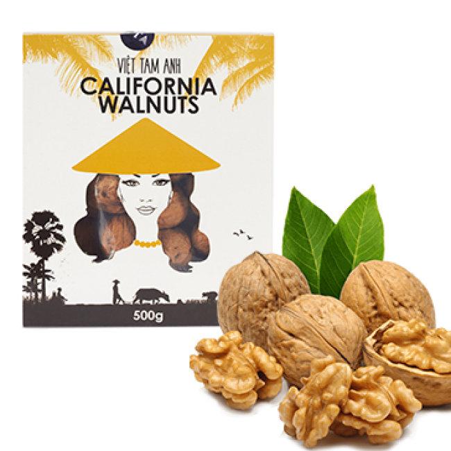 500gr Hạt Óc Chó Sạch Walnuts NK Mỹ Tốt Sức Khỏe