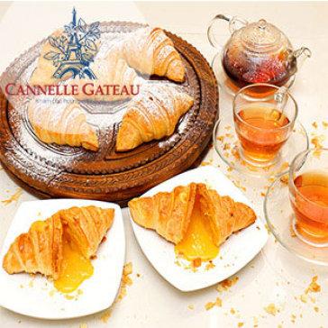 Combo Hộp 5 Bánh Sừng Trâu Trứng Muối Đặc Biệt Tại Bánh Quế Hương Vị Pháp