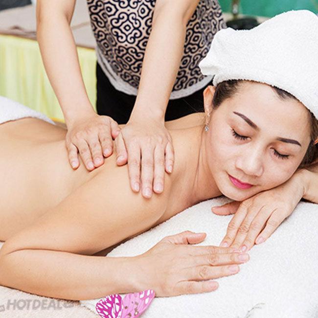 Trọn Gói Massage Body + Massage Foot + Ngâm Chân + Đắp Tảo Làm Thon...
