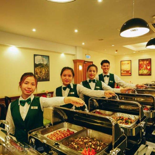 Buffet Tối 70 Món Á Âu Việt Hải Sản Nướng Free Nước Uống -...