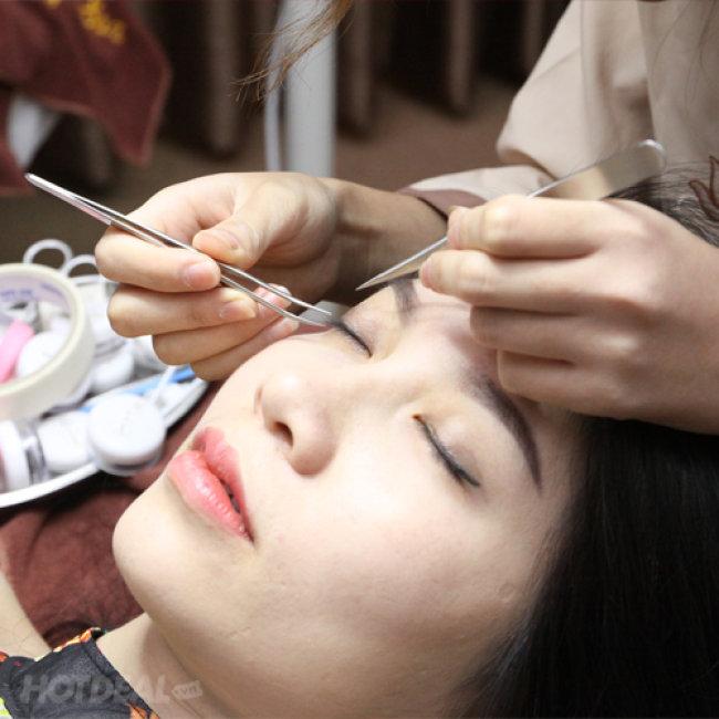 Nối Mi Lụa Hàn Quốc Tại Jolie Spa