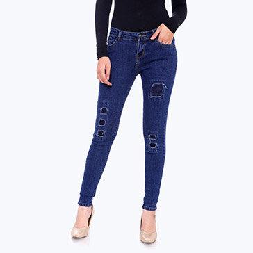 Quần Jeans Nữ HD Fashion 418