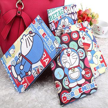Bao Da Ipad 2/3/4 Hoạ Tiết Doraemon Khay Dẻo Cao Cấp