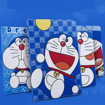 Bao Da Ipad Mini 1/2/3 Hoạ Tiết Doraemon Khay Dẻo Cao Cấp