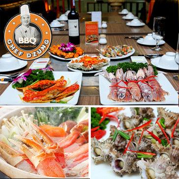 Chef Dzung - Buffet Lẩu & Nướng Không Khói- Đẳng Cấp Buffet Số 1...