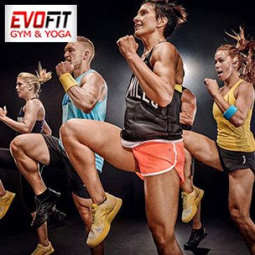 4 Tuần Tập Gym, Yoga, Zumba, Taichi Balance, Aerobic, Sauna Không Giới Hạn Tại Evofit