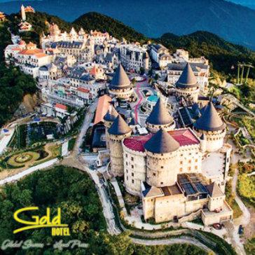 Tour Free & Easy Gold Hotel I Đà Nẵng 3N2Đ Tham Quan Bà Nà Hills - Ngũ Hành Sơn - Hội An - Cho 01 Người