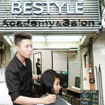 Bestyle - Academy & Salon Trọn Gói Làm Tóc Cao Cấp Uốn/ Duỗi/ Nhuộm
