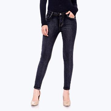 Quần Jeans Nữ Dạo Phố Fashion HD 563